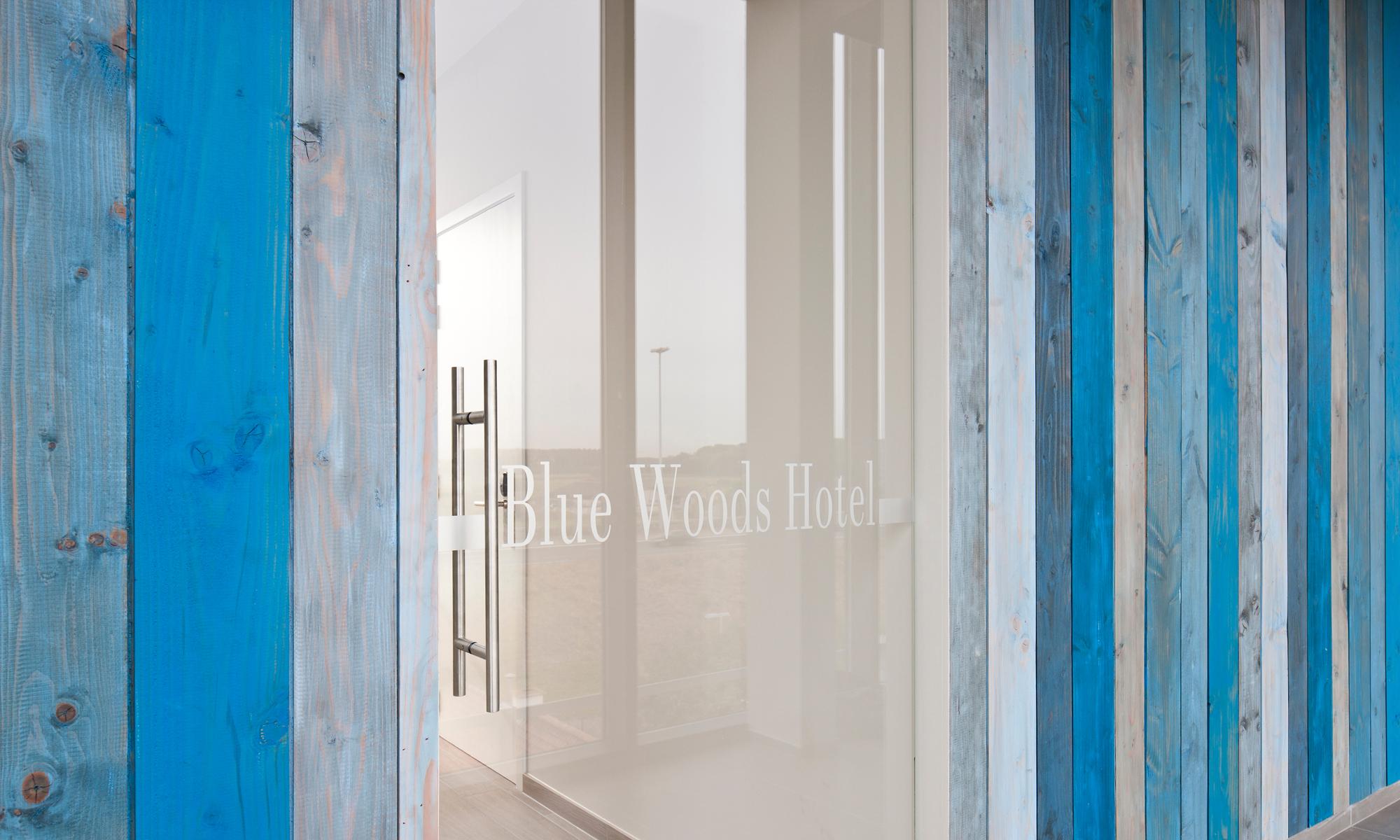 Welkom in het Blue Woods hotel